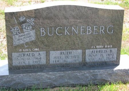 BUCKNEBERG, ALFRED B. - Turner County, South Dakota | ALFRED B. BUCKNEBERG - South Dakota Gravestone Photos