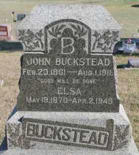 BUCKSTEAD, ELSA - Turner County, South Dakota | ELSA BUCKSTEAD - South Dakota Gravestone Photos