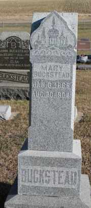 BUCKSTEAD, MARY - Turner County, South Dakota | MARY BUCKSTEAD - South Dakota Gravestone Photos