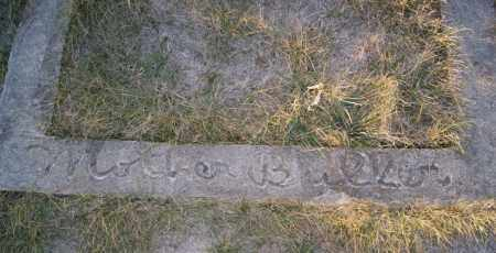 BULLER, AGATHA - Turner County, South Dakota   AGATHA BULLER - South Dakota Gravestone Photos