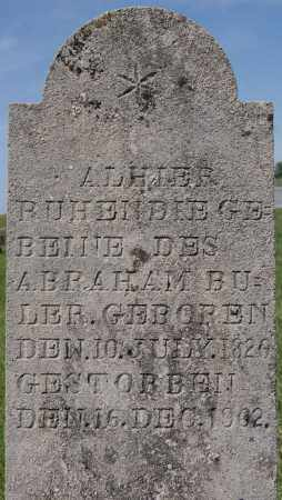 BULLER, ABRAHAM - Turner County, South Dakota | ABRAHAM BULLER - South Dakota Gravestone Photos