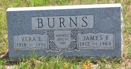 BURNS, JAMES F. - Turner County, South Dakota | JAMES F. BURNS - South Dakota Gravestone Photos