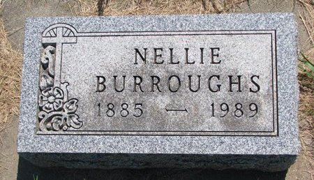 BURROUGHS, NELLIE - Turner County, South Dakota   NELLIE BURROUGHS - South Dakota Gravestone Photos