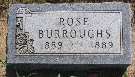 BURROUGHS, ROSE - Turner County, South Dakota | ROSE BURROUGHS - South Dakota Gravestone Photos