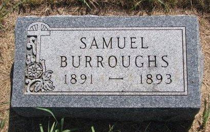 BURROUGHS, SAMUEL #2 - Turner County, South Dakota   SAMUEL #2 BURROUGHS - South Dakota Gravestone Photos