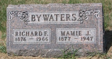 BYWATERS, MAMIE J. - Turner County, South Dakota   MAMIE J. BYWATERS - South Dakota Gravestone Photos