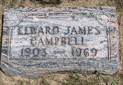 CAMPBELL, ELWOOD JAMES - Turner County, South Dakota | ELWOOD JAMES CAMPBELL - South Dakota Gravestone Photos