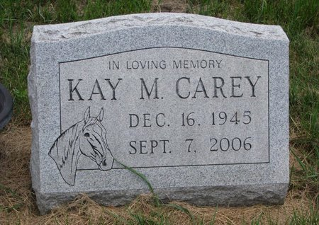 FALK CAREY, KAY M. - Turner County, South Dakota | KAY M. FALK CAREY - South Dakota Gravestone Photos