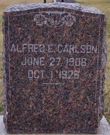 CARLSON, ALFRED E - Turner County, South Dakota | ALFRED E CARLSON - South Dakota Gravestone Photos