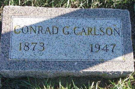 CARLSON, CONRAD G. - Turner County, South Dakota   CONRAD G. CARLSON - South Dakota Gravestone Photos