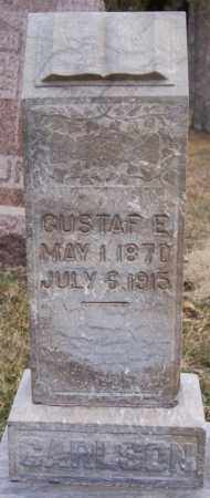 CARLSON, GUSTAF E - Turner County, South Dakota   GUSTAF E CARLSON - South Dakota Gravestone Photos