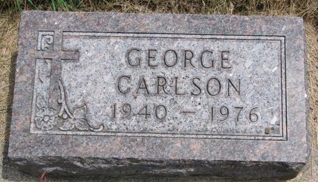 CARLSON, GEORGE - Turner County, South Dakota | GEORGE CARLSON - South Dakota Gravestone Photos