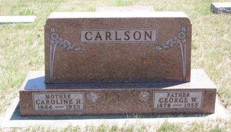 CARLSON, GEORGE W. - Turner County, South Dakota | GEORGE W. CARLSON - South Dakota Gravestone Photos