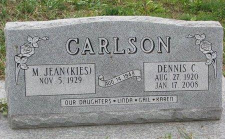 CARLSON, M. JEAN - Turner County, South Dakota | M. JEAN CARLSON - South Dakota Gravestone Photos