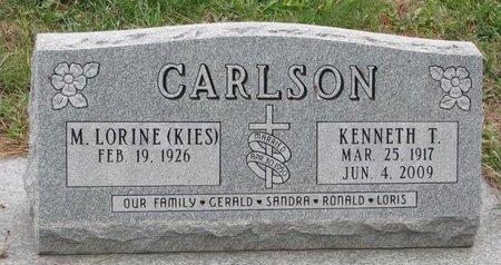 CARLSON, KENNETH T. - Turner County, South Dakota | KENNETH T. CARLSON - South Dakota Gravestone Photos