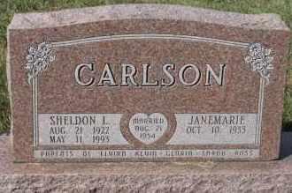CARLSON, JANEMARIE - Turner County, South Dakota | JANEMARIE CARLSON - South Dakota Gravestone Photos