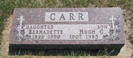 CARR, HUGH C. - Turner County, South Dakota | HUGH C. CARR - South Dakota Gravestone Photos