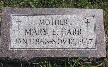 CARR, MARY E. - Turner County, South Dakota | MARY E. CARR - South Dakota Gravestone Photos