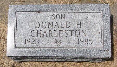 CHARLESTON, DONALD HOWARD - Turner County, South Dakota | DONALD HOWARD CHARLESTON - South Dakota Gravestone Photos