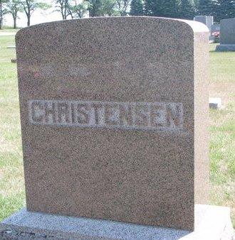 CHRISTENSEN, *FAMILY MONUMENT - Turner County, South Dakota | *FAMILY MONUMENT CHRISTENSEN - South Dakota Gravestone Photos