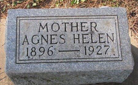 CHRISTENSEN, AGNES HELEN - Turner County, South Dakota | AGNES HELEN CHRISTENSEN - South Dakota Gravestone Photos