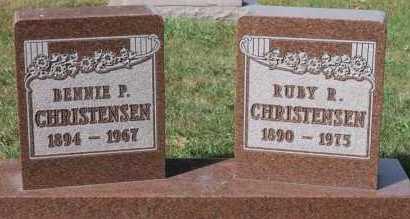 CHRISTENSEN, RUBY R - Turner County, South Dakota | RUBY R CHRISTENSEN - South Dakota Gravestone Photos