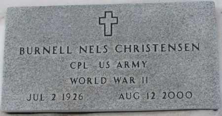 CHRISTENSEN, BURNELL NELS (WWII) - Turner County, South Dakota | BURNELL NELS (WWII) CHRISTENSEN - South Dakota Gravestone Photos
