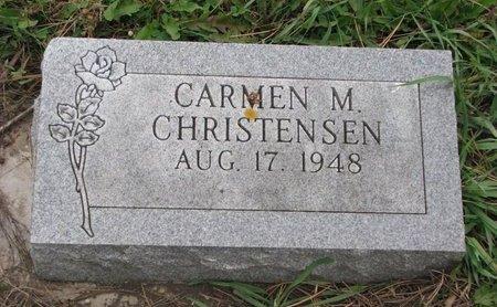 CHRISTENSEN, CARMEN M. - Turner County, South Dakota | CARMEN M. CHRISTENSEN - South Dakota Gravestone Photos