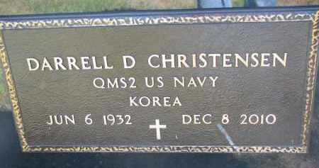 CHRISTENSEN, DARRELL  (KOREA) - Turner County, South Dakota | DARRELL  (KOREA) CHRISTENSEN - South Dakota Gravestone Photos