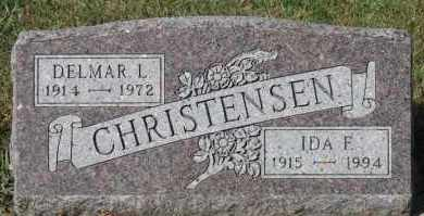 CHRISTENSEN, IDA F - Turner County, South Dakota | IDA F CHRISTENSEN - South Dakota Gravestone Photos