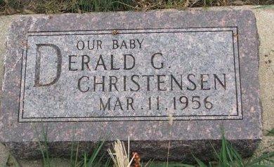 CHRISTENSEN, DERALD G. - Turner County, South Dakota   DERALD G. CHRISTENSEN - South Dakota Gravestone Photos