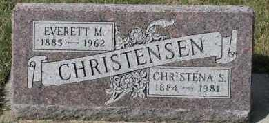 CHRISTENSEN, EVERETT M - Turner County, South Dakota | EVERETT M CHRISTENSEN - South Dakota Gravestone Photos
