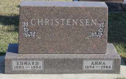 CHRISTENSEN, ANNA - Turner County, South Dakota | ANNA CHRISTENSEN - South Dakota Gravestone Photos