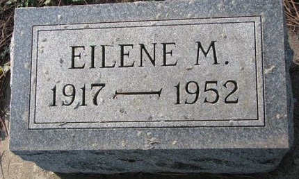 CHRISTENSEN, EILENE M. - Turner County, South Dakota | EILENE M. CHRISTENSEN - South Dakota Gravestone Photos