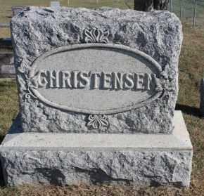 CHRISTENSEN, FAMILY MARKER - Turner County, South Dakota | FAMILY MARKER CHRISTENSEN - South Dakota Gravestone Photos