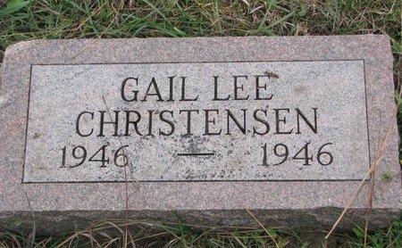 CHRISTENSEN, GAIL LEE - Turner County, South Dakota | GAIL LEE CHRISTENSEN - South Dakota Gravestone Photos