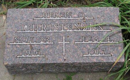 CHRISTENSEN, HELEN O. - Turner County, South Dakota   HELEN O. CHRISTENSEN - South Dakota Gravestone Photos
