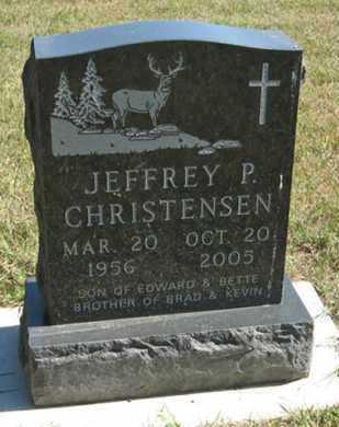 CHRISTENSEN, JEFFREY P. - Turner County, South Dakota | JEFFREY P. CHRISTENSEN - South Dakota Gravestone Photos