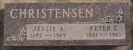 CHRISTENSEN, PETER C - Turner County, South Dakota | PETER C CHRISTENSEN - South Dakota Gravestone Photos