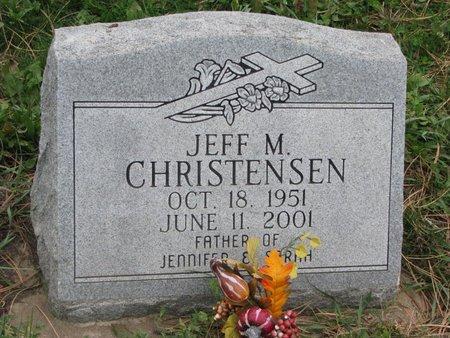 CHRISTENSEN, JEFF M. - Turner County, South Dakota | JEFF M. CHRISTENSEN - South Dakota Gravestone Photos