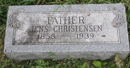 CHRISTENSEN, JENS - Turner County, South Dakota | JENS CHRISTENSEN - South Dakota Gravestone Photos