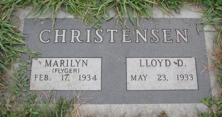 FLYER CHRISTENSEN, MARILYN - Turner County, South Dakota | MARILYN FLYER CHRISTENSEN - South Dakota Gravestone Photos