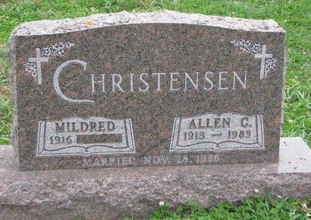 CHRISTENSEN, MILDRED - Turner County, South Dakota | MILDRED CHRISTENSEN - South Dakota Gravestone Photos