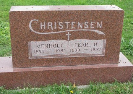 CHRISTENSEN, PEARL - Turner County, South Dakota | PEARL CHRISTENSEN - South Dakota Gravestone Photos