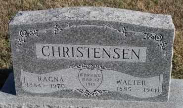 CHRISTENSEN, RAGNA - Turner County, South Dakota | RAGNA CHRISTENSEN - South Dakota Gravestone Photos