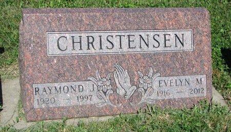 CHRISTENSEN, RAYMOND J. - Turner County, South Dakota | RAYMOND J. CHRISTENSEN - South Dakota Gravestone Photos