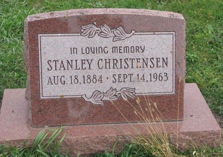 CHRISTENSEN, STANLEY - Turner County, South Dakota | STANLEY CHRISTENSEN - South Dakota Gravestone Photos