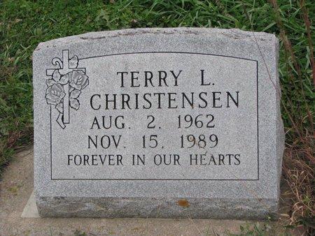 CHRISTENSEN, TERRY L. - Turner County, South Dakota | TERRY L. CHRISTENSEN - South Dakota Gravestone Photos