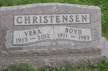 CHRISTENSEN, VERA - Turner County, South Dakota | VERA CHRISTENSEN - South Dakota Gravestone Photos
