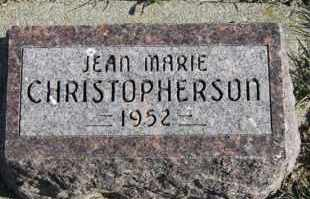 CHRISTOPHERSON, JEAN MARIE - Turner County, South Dakota | JEAN MARIE CHRISTOPHERSON - South Dakota Gravestone Photos